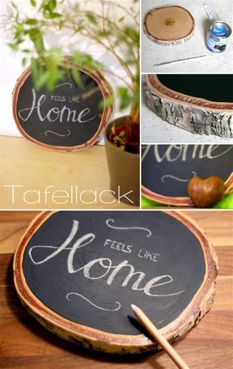 Tafelfarbe Auf Holz by Tafellack Und Holz Gingered Things