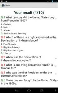 Citizenship Test Questions and Answers 2014