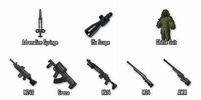 Pubg Mobile Gun Airdrop Weapons Guns Transparent