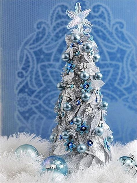 classic blue christmas tree  celebrates peace