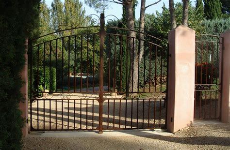Portail En Fer Portail Battant En Acier 224 Aix En Provence Hv Creation