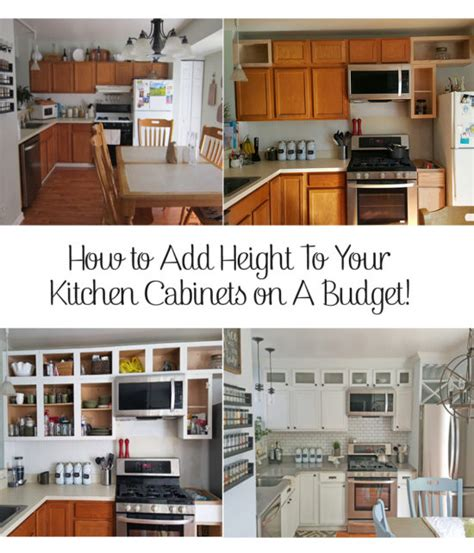kitchen cabinets put together yourself tall kitchen cabinets how to add height