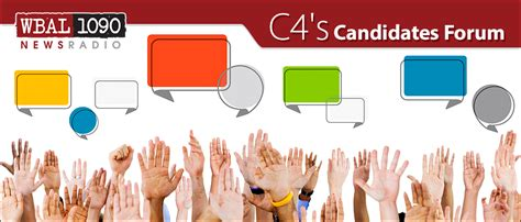 Sign Up Now For The C4 Candidates Forum