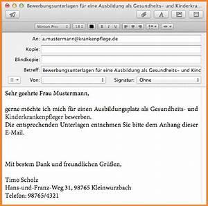 Wohnung Kündigen Per Email : 8 bewerbung email anschreiben timothy hodge ~ Lizthompson.info Haus und Dekorationen