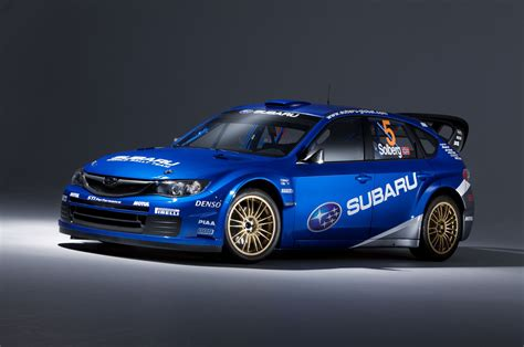 subaru rally racing subaru s wrc impreza rally car 2008 first pictures by