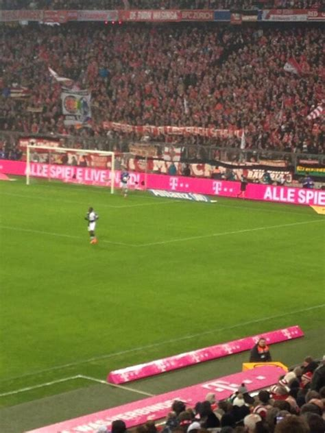 Pic: Bayern Munich fans hold up banner supporting ...