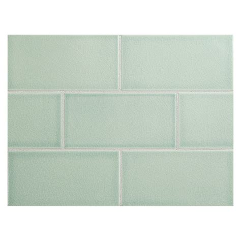 vermeere ceramic tile mediterranean blue crackle 3 quot x