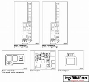 Toyota Sienna I Xl10 Fuse Box Diagrams  U0026 Schemes