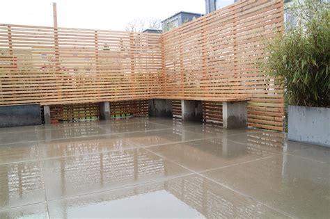 Terrassen Sichtschutz Holz by Sichtschutz Holz Fur Terrasse Bvrao