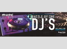 Battle of the DJ's Student Leadership & Involvement