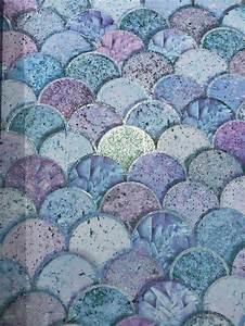 Mermazing Mermaid Scales Glitter Wallpaper Arthouse 698305