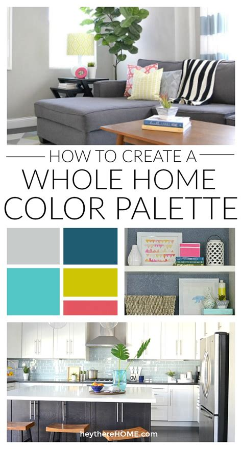color palette for home interiors how to create a whole home color palette