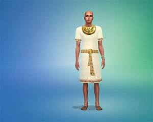 Ancient Egypt outfits for males at Mara45123 » Sims 4 Updates