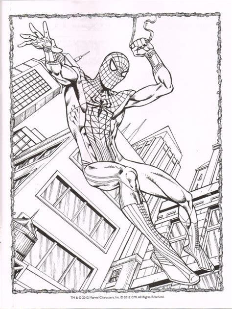 amazing spider man  coloring pages  getcolorings