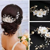 New 40Pcs Wedding Bridal Pearl Flower Crystal Hair Pins