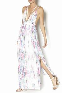 L'atiste Watercolor Maxi Dress from Manhattan by Dor L'Dor
