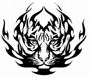 tribal-tiger-tattoos-03-1.png | Clipart Panda - Free ...