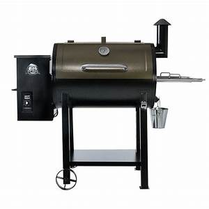 Baupläne Smoker Grill : pit boss deluxe pellet grill smoker two toned shop your ~ Articles-book.com Haus und Dekorationen