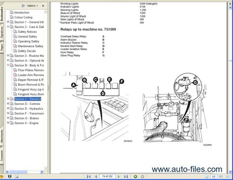 Jcb 506c Wiring Diagram For Forklift by Jcb Service Manuals S1 Repair Manuals Wiring