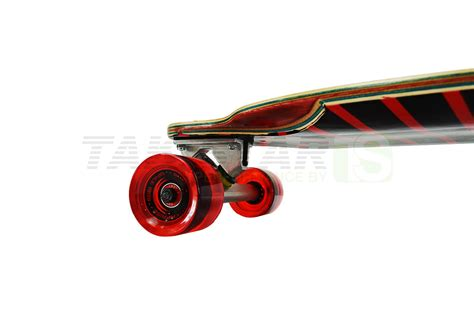 cruiser and downhill skateboard longboard maple downhill