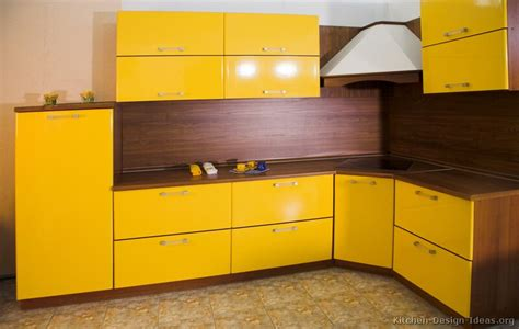 Pictures Of Modern Yellow Kitchens-gallery & Design Ideas