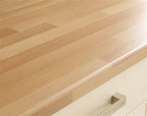 Plan Travail Massif : plan de travail en bois brut maison design ~ Premium-room.com Idées de Décoration