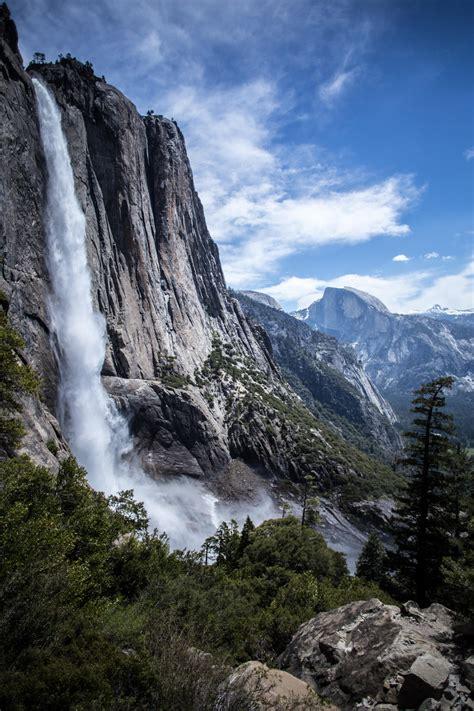 Upper Yosemite Falls Half Dome National Park