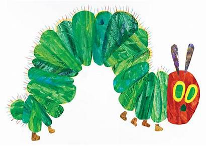 Carle Eric Caterpillar Hungry Very Books Illustration