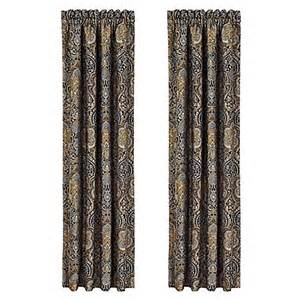 j queen new york venezia 84 inch window curtain panel