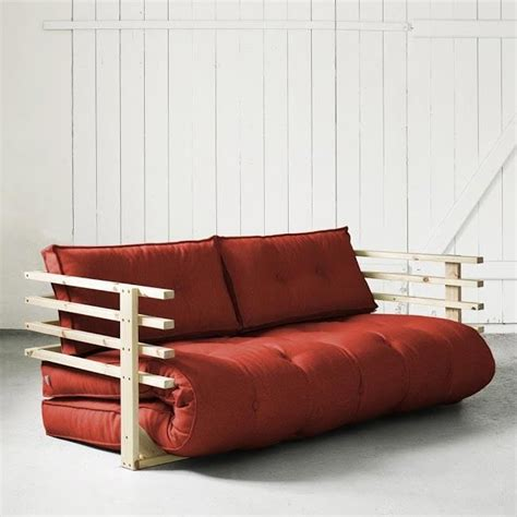 cdiscount canapé d angle convertible convertible funk 160 naturel futon achat vente