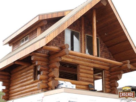 cabin homes log cabins cascade handcrafted log homes