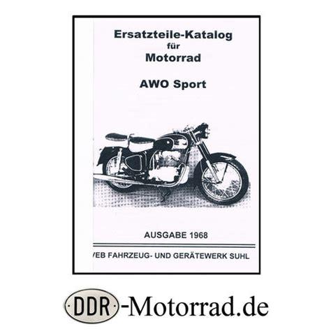 sport awo kaufen ersatzteile f 252 r awo sport 425s ddr motorrad de ersatzteileshop