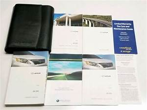 2011 Lexus Rx 350 Rx350 Owners Manual Operators User Guide