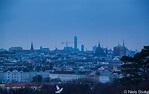 Vienna Donaustadt Skyline in the Distance / Vienna, Austri ...