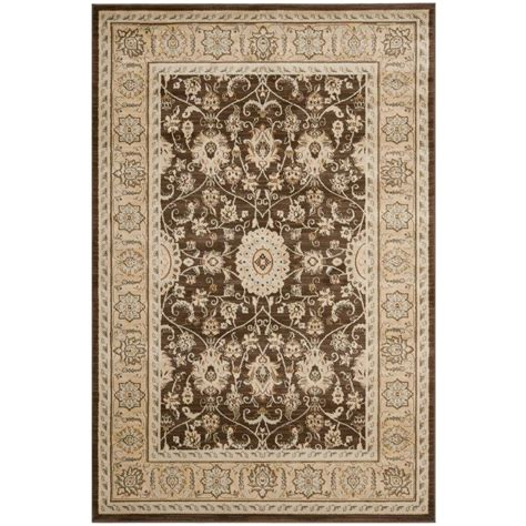 Safavieh Florenteen Rug by Safavieh Florenteen Brown Ivory 5 Ft 1 In X 7 Ft 7 In