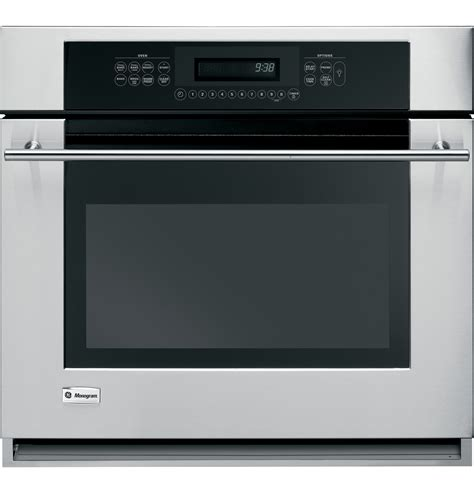 ge monogram  built  electric single oven zetsmss ge appliances