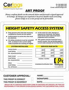 Inspection  U0026 Identification Tags  U0026 Labels