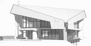 HD wallpapers architecture moderne maison dessin 8513.ga