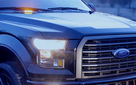 strobe light kits for trucks ford offers factory strobes on 2016 f 150