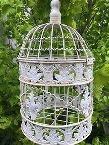Vogelkooi  Hangmand  Decoratieve Kooi  Metalen Bloemen