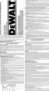 Dewalt Dw364 Type3 1212505l User Manual 7 1  4 Circular Saw