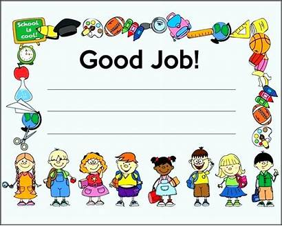 Certificate Job Certificates Printable Template Done Well