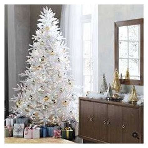 white tree with gold decorations white trees let s celebrate