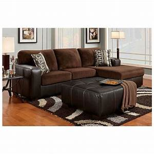 36 best sectionals images on pinterest magazine With chocolate brown leather sectional sofa with 2 storage ottomans