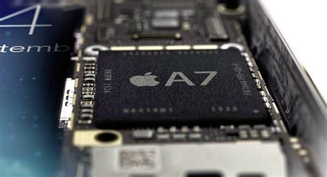 iphone 5s chips samsung made a7 nxp made m7 bosch