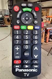 big hoss TV panasonic télécommande géante ...