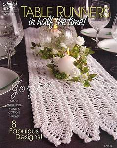 Table Runners In Half The Time  Crochet Patterns