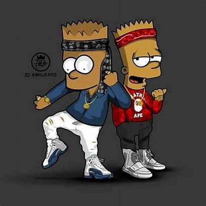 Bart Simpson Supreme Bape Simpsons Gucci Wallpapers