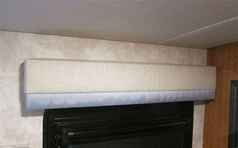 How To Re Cover RV Window Valances   Trek With Us
