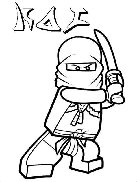 ausmalbilder ninjago lego  ninjago malen